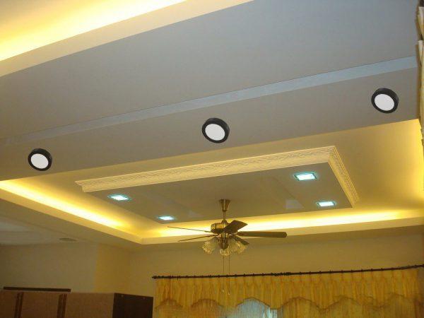 Đèn LED ốp trần nổi